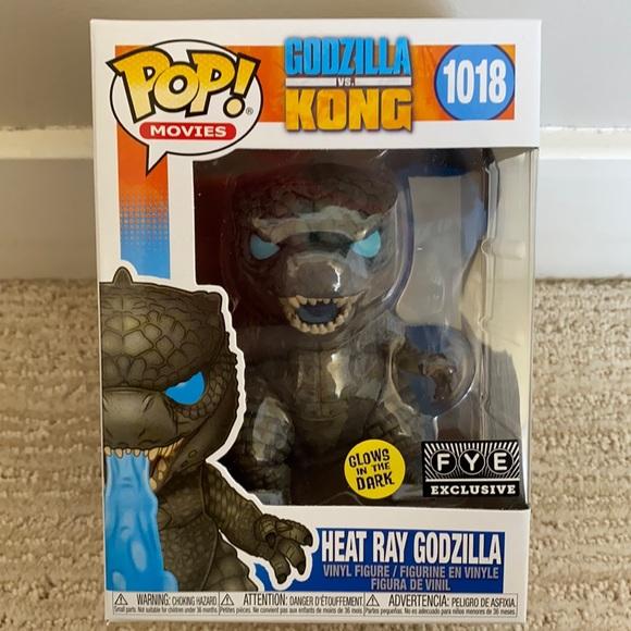 Heat Ray Godzilla Funko Pop Vinyl